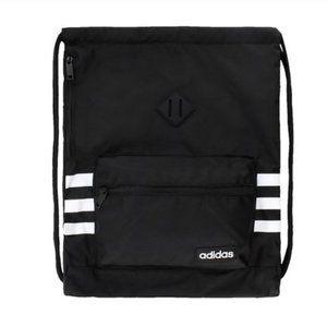 Adidas Classic 3S Sackpack, Black/White NEW